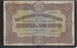 Bulgarie - 20 Leva - Pick N°23 - TB - Bulgarie