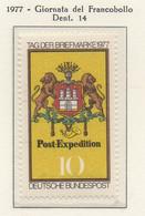 PIA - GERMANIA - 1977 : Giornata Del Francobollo  -  (Yv 795) - Giornata Del Francobollo