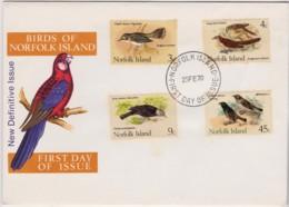 Norfolk Island 1970 Birds Unaddressed FDC - Norfolk Island