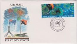 Papua New Guinea 1988 Australian Bicentenary FDC - Papua New Guinea