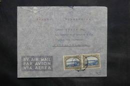 AFRIQUE DU SUD OUEST - Enveloppe De Windhoek Pour La France En 1937 , Affranchissement Plaisant - L 34287 - South West Africa (1923-1990)