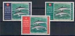 S.M.O.M. SOVRANO MILITARE ORDINE DI MALTA - FAUNA ANIMALI PESCI - MNH - Malte (Ordre De)