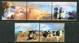 Australia 1998 Farming - Self-adhesive - Set MNH (SG 1764-1768) - 1990-99 Elizabeth II