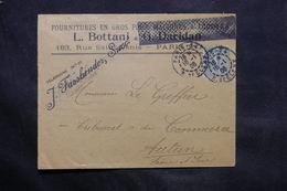 FRANCE - Enveloppe Commerciale De Paris Pour Autun En 1906 - L 34289 - Marcophilie (Lettres)