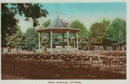 AO05 Town Gardens, Swindon - RPPC - Other
