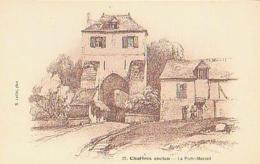 Chartres   287          La Porte Morard ( Illustration ) - Chartres