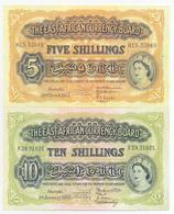 British East Africa 4 Note Set 1953 COPY - Kenia
