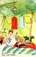 THEME HUMOUR - Carte Postale Ancienne [REF/S005096] - Humour