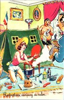 THEME HUMOUR - Carte Postale Ancienne [REF/S005097] - Humour