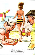 THEME HUMOUR - Carte Postale Ancienne [REF/S005100] - Humour