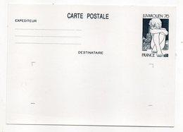 Entier Postal--n° 1876--CP1 --Type Expo Phil  JUVAROUEN    60c  Ardoise  --NEUF - Entiers Postaux