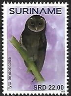 Suriname - MNH - 2019 -  Greater Sooty Owl    Tyto Tenebricosa - Owls