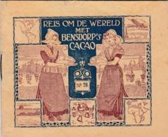ALLEMAGNE :  Livret Cacao Bensdorp 16 Vues Villes Diverses Voir Description - Duitsland