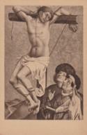 AR38 Religious Postcard - Gesina, Der Bose Schacher Am Kreuz - Jesus