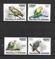 Burundi 2011 Birds - Parrots MNH (R0106) - Perroquets & Tropicaux