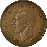Monnaie, Australie, George VI, Penny, 1952, TTB, Bronze, KM:43 - Penny