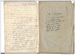 AUTOGRAPHE Charles Ludovic Marie De Polignac , Lettre ( Pas De MP ) écrite De L'Ambassade De France à Berlin 1872 - Autogramme & Autographen