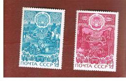 URSS -  YV. 3829.3829A -  1972  AUTONOMOUS SOVIET REPUBLICS    (COMPLET SET OF 2)   - MINT** - Ungebraucht