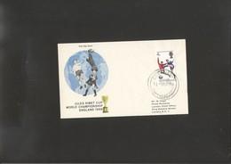 Football - Soccer WC 1966 FDC Of England - 1966 – Inglaterra