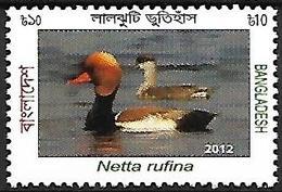 Banladesh - MNH - 2012 -    Red-crested Pochard    Netta Rufina - Canards