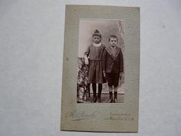 PHOTO - 77 SEINE ET MARNE - DONNEMARIE EN MONTOIS : Deux Enfants - Anonieme Personen