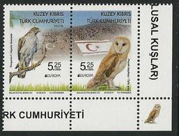 "CHIPRE TURCO /TURKISH CYPRUS /TÜRKISCH ZYPERN  -EUROPA 2019 -NATIONAL BIRDS.-""AVES -BIRDS -VÖGEL -OISEAUX""-SERIE CH-D - 2019"