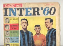 """Revue """" Inter 60 """" Numero Unico 1960 - Sport, Football,...(jm) - Sport"""