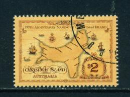 CHRISTMAS ISLAND - 1993 Map $2 Used As Scan - Christmas Island