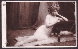 Old ANTIQUE Postcard Vintage Photo Snapshot Foto ART PORTRAIT PRETTY YOUNG LADY French Actress & Singer Gaby Deslys #181 - Ansichtskarten