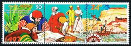 Cabo Verde Nº 719/21 (unidos) Nuevo - Islas De Cabo Verde