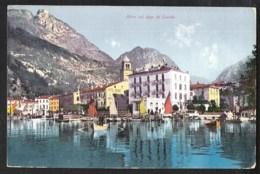 RIVA Sul Lago Di Garda With Hotel Imperial And Hotel Sonne Sent 1907?  Austrian Stamp / Österreichische Briefmarke - Italie
