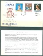 JERSEY - 7.2.1977 - FDC -  SILVER JUBILEE  - Lot 19933 - Jersey