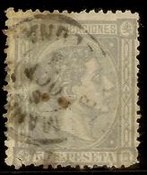 España Edifil 168 (º)  50 Céntimos Lila  Alfonso XII   1875   NL1547 - 1873-74 Regentschaft