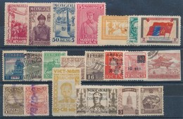 ** (*) O Mongólia, Holland India, Japán Kis Tétel Stecklapon - Unclassified