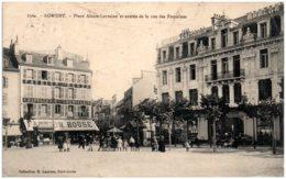 56 LORIENT - Place Alsace-Lorraine Et Entrée De La Rue Des Fontaines - Lorient
