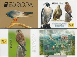 "MACEDONIA /NORTH-MACEDONIA /MAKEDONIEN -EUROPA 2019 -NATIONAL BIRDS.-""AVES -BIRDS -VÖGEL-OISEAUX""- CARNET - 2019"