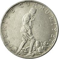 Monnaie, Turquie, 2-1/2 Lira, 1966, TTB, Stainless Steel, KM:893.1 - Turquie