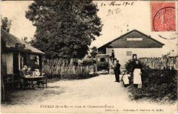 CPA ÉVERLY Gare De Chalmaison-Éverly (861546) - Autres Communes