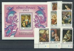 Grenada 717/Block 50 ** - Weihnachten 1975 - Grenada (1974-...)