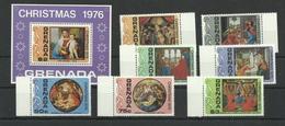 Grenada 806/Block 61 ** - Weihnachten 1976 - Grenada (1974-...)