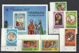 Grenada/Grenadinen 201/Block 24 ** - Weihnachten 1976 - Grenada (1974-...)