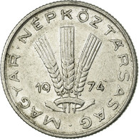 Monnaie, Hongrie, 20 Fillér, 1974, Budapest, TTB, Aluminium, KM:573 - Danemark