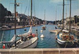 Morlaix (29) - Yachts Dans Le Bassin à Flot - Morlaix