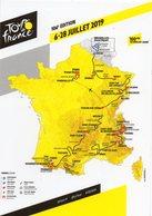 Tour De France 2019   La Carte..... - Cyclisme