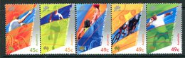 Australia 2000 Paralympic Games, Sydney - 1st Issue - Set MNH (SG 1990-1994) - 2000-09 Elizabeth II