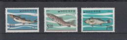 Korea Süd Michel Cat.No. Mnh/** 534/536 Fish - Corée Du Sud