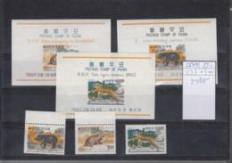 Korea Süd Michel Cat.No. Mnh/** 567/569 + Sheets 243/245 - Corée Du Sud