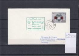 Kuwait Michel Cat.No.   521 Single On Cover FFC - Kuwait