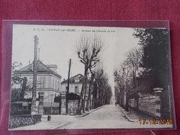 CPA - Epinay-sur-Seine - Avenue Du Chemin De Fer - France
