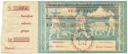 LIRE PARTIGIANI SLOVENI LUBJANA CON MATRICE 1941 NON EMESSO BB/BB+ - [ 1] …-1946 : Kingdom